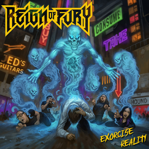 Reign Of Fury - Exorcise Reality